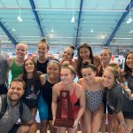Girls Varsity Swimming finishes 2nd place at Regionals and Qualify for States