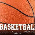 Boys Basketball Triple-header vs. Windermere Prep at BMC 4/5:30/7pm!!