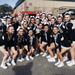 Girls Varsity Competitive Cheer Winter finishes 3rd place at UCA Regionals