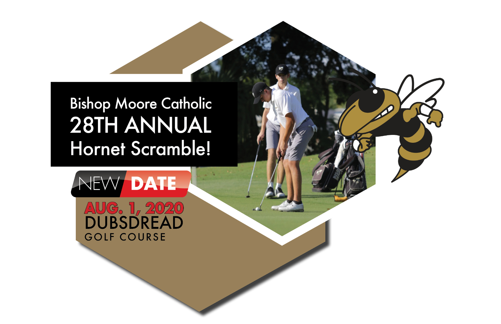 SUPPORT your Child's SPORT — Sponsor a Hole at the Hornet Scramble