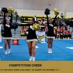 Competition Cheer Heads to Hagerty High School Saturday 1/11