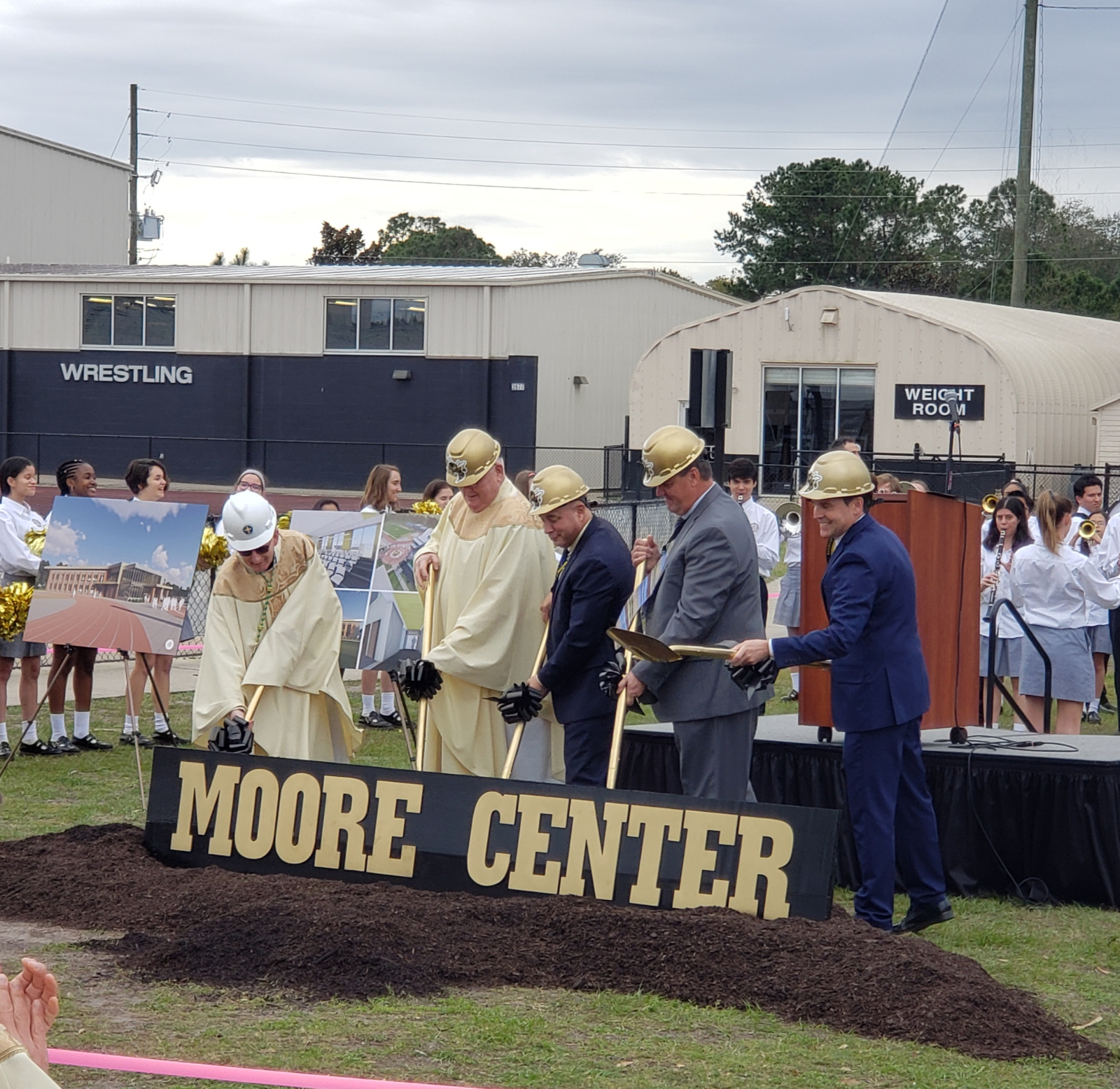 Ground Breaking for The Moore Center