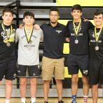 Varsity Wrestling - Michael B Hutchins Tournament 2020