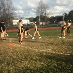 Girls Varsity Flag Football falls to Jones 20 – 0
