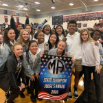 Varsity Dance finishes 1st place at MA Dance Competition