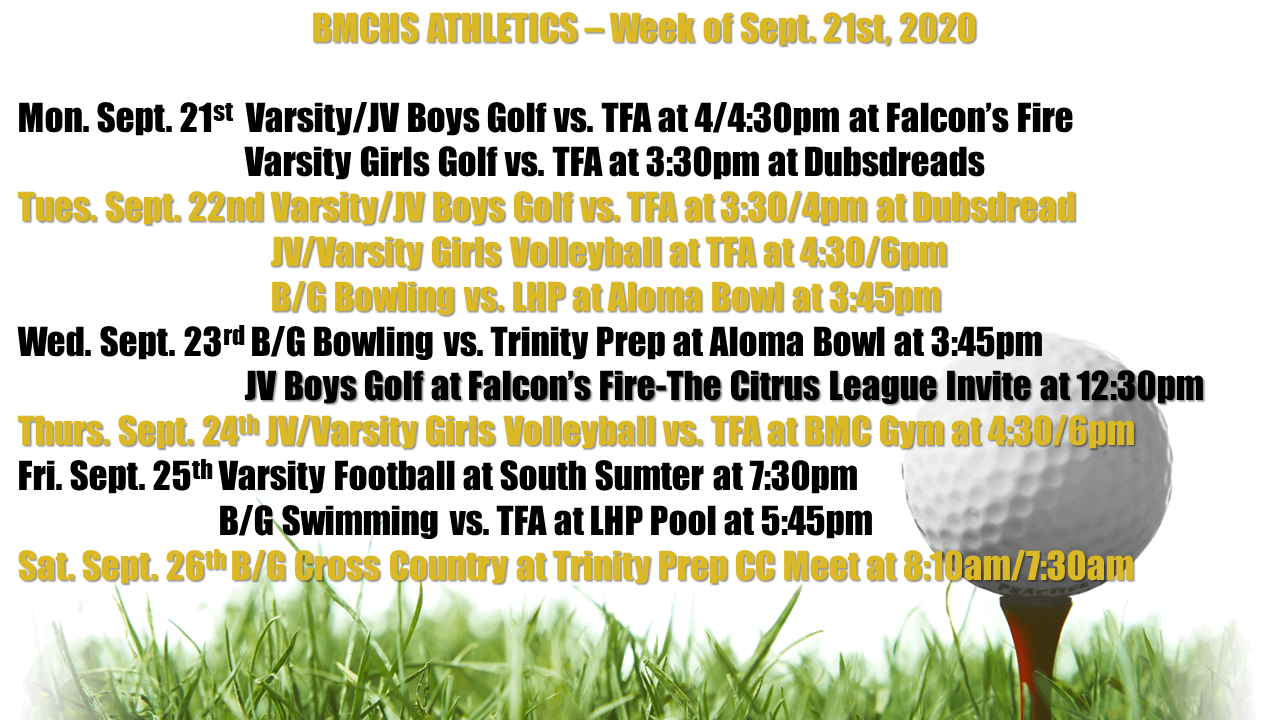 THIS WEEK IN SPORTS