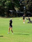 Varsity Girls Golf wins a close match against Montverde Academy