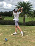 Boys Varsity Golf wins against Trinity Prep