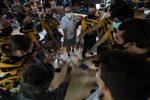 Boys Varsity Bowling falls to Trinity Prep