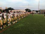 Boys Varsity Football shutout Leesburg 41-0.