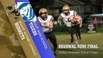 Varsity Football travels to Tampa Jesuit for the Regional Semi Final Friday, Nov. 27th
