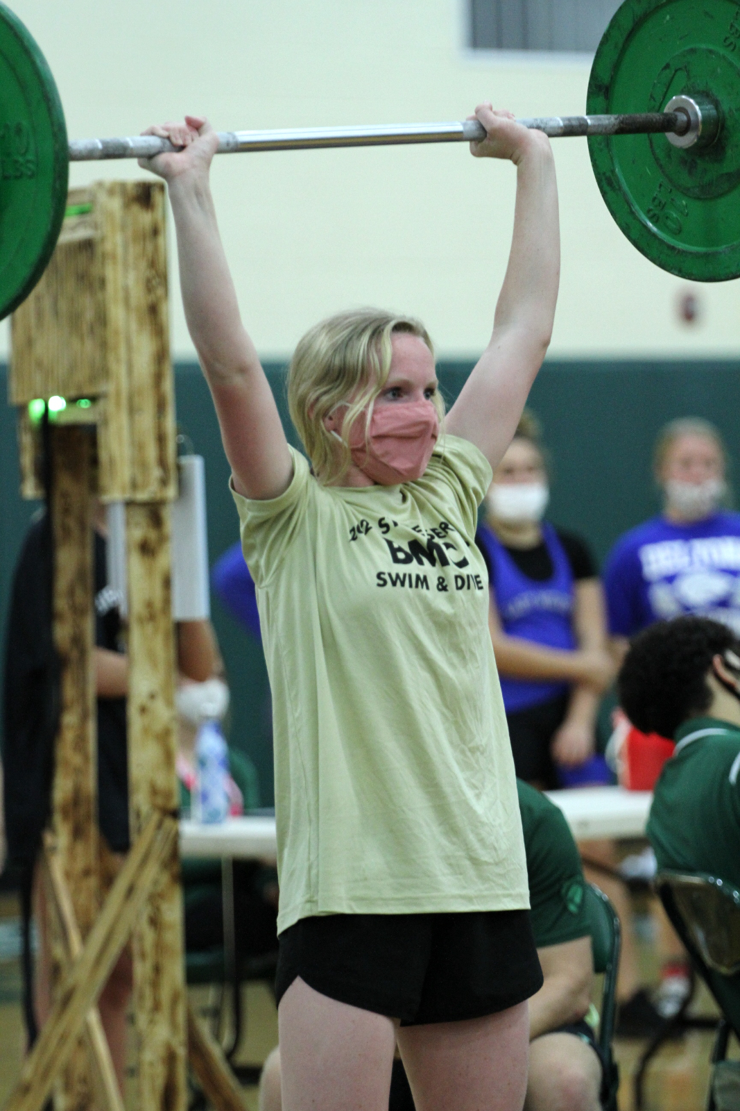 Girls Powerlifting at Father Lopez