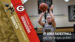 Junior Varsity Girls Basketball will host Colonial Jan. 6th at 6pm – LIVESTREAMED