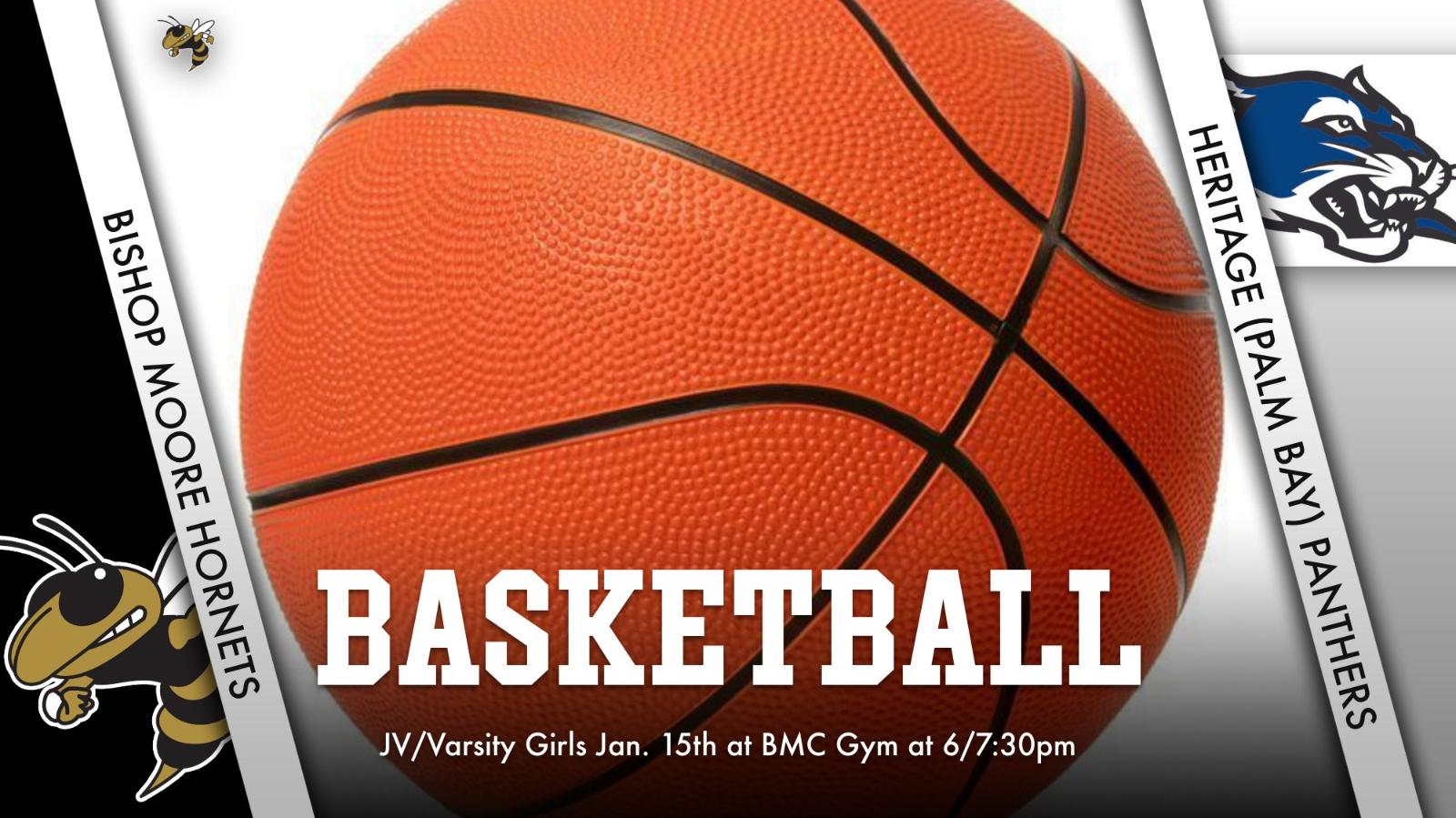 JV/Varsity Girls Basketball will host Heritage at 6/7:30pm – LIVESTREAMED