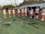 Girls Junior Varsity Lacrosse wins 13-0 against Trinity Prep