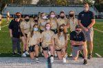 Girls Varsity Flag Football falls short to Trinity Catholic 7-6
