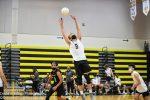 Boys Varsity Volleyball wins in 3