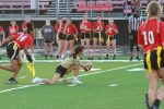 Girls Varsity Flag Football falls to Trinity Catholic 13-6