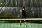 Boys Varsity Tennis wins 7-0 against University