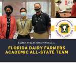 Florida Dairy Farmers Academic All-State Team – Winner Marcus L. – CONGRATULATIONS!