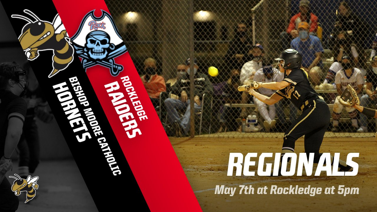Softball will travel to Rockledge for the Regional Quarterfinal game at 5pm. Good Luck Hornets!
