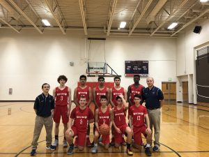 JV Boys Basketball 2017-2018