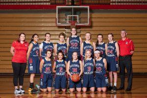 Girls JV Basketball 2017-2018
