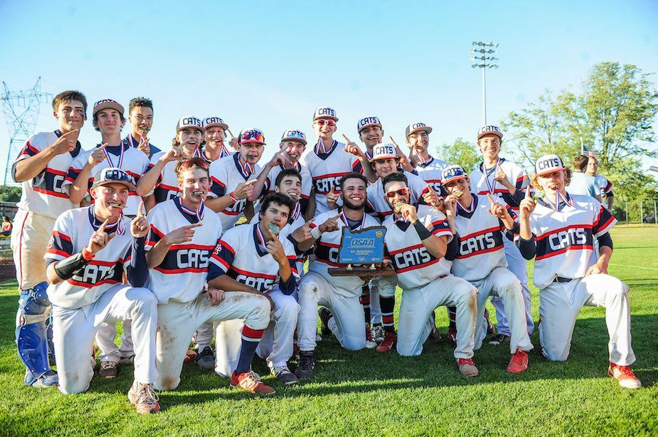 Congrats Baseball 2018 OSAA 6A Champions