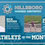 And the Hillsboro Modern Dentistry Athlete of the Month is….