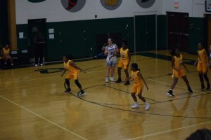 Girls Varsity Basketball v. Hillsboro on November 30th, 2017