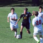 Boys Soccer Team Clinches Suburban Conference Blue Pool Title