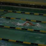 Grilc Swims Consideration Qualifying Times in 100 Breast Stoke