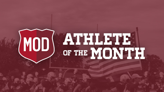 Don't Forget to Vote MOD Pizza December Athlete of the Month
