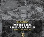 Winter Break Practice Schedules