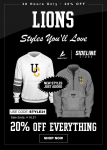 Sideline Store | Flash Sale April 15-16