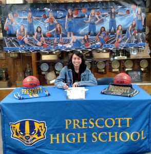 Theresa Gutierrez – Signing Day to play Basketball at Benedictine University