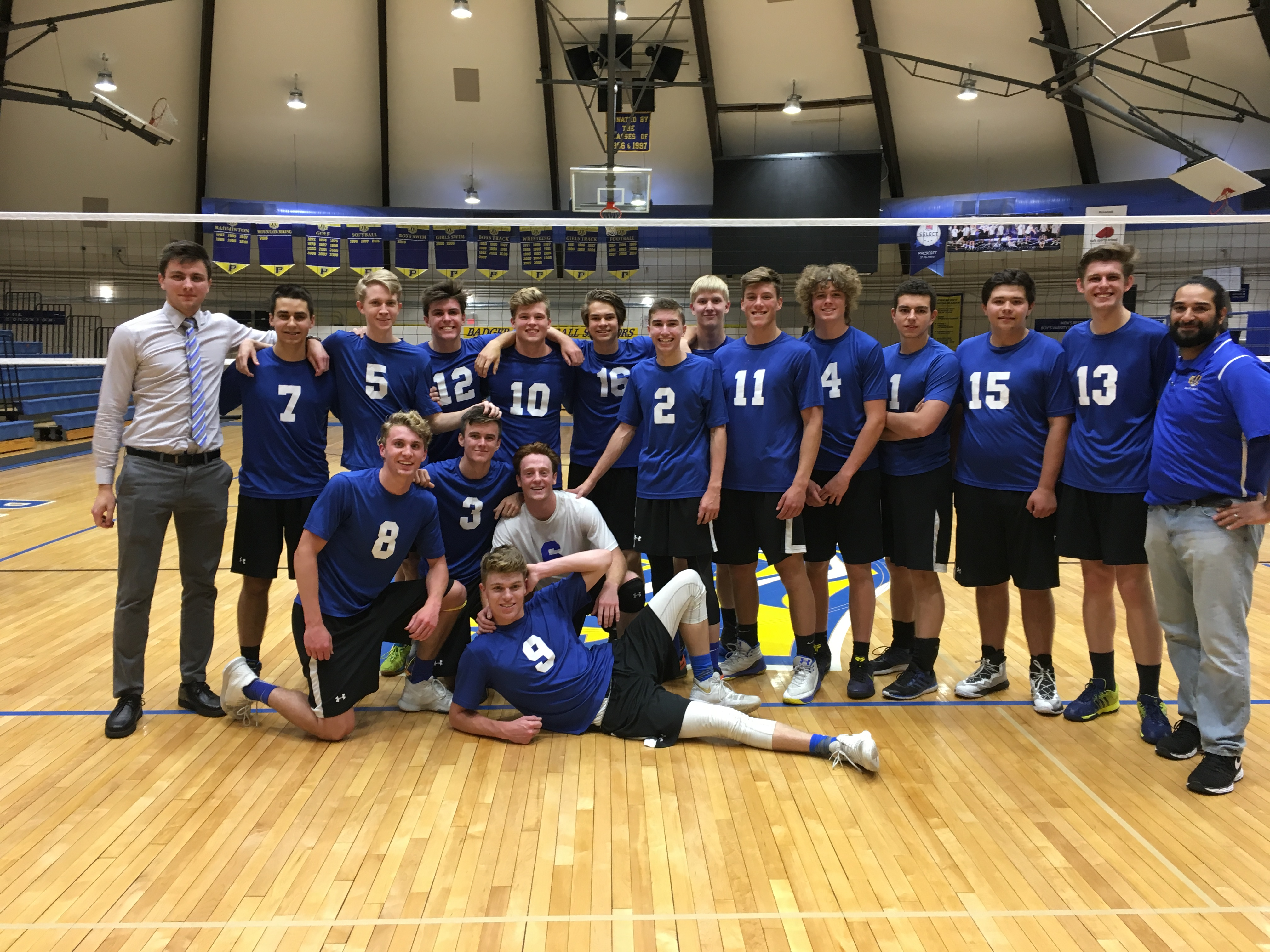 Congratulations to Boys Volleyball on First State Appearance