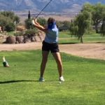Prescott Girl's Varsity Golf finishes 2nd behind Lee Williams