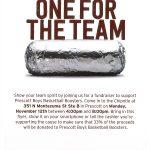 Chipotle Fundraiser for Boys Basketball Nov. 12