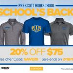 Sideline Store Discount for February