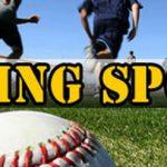 Spring Sport Tryout Information
