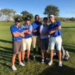Boys Golf Moving up in State Ranking by winning another match at Home