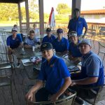 Boys Golf Last Home Meet and Holding on to No 10 in State