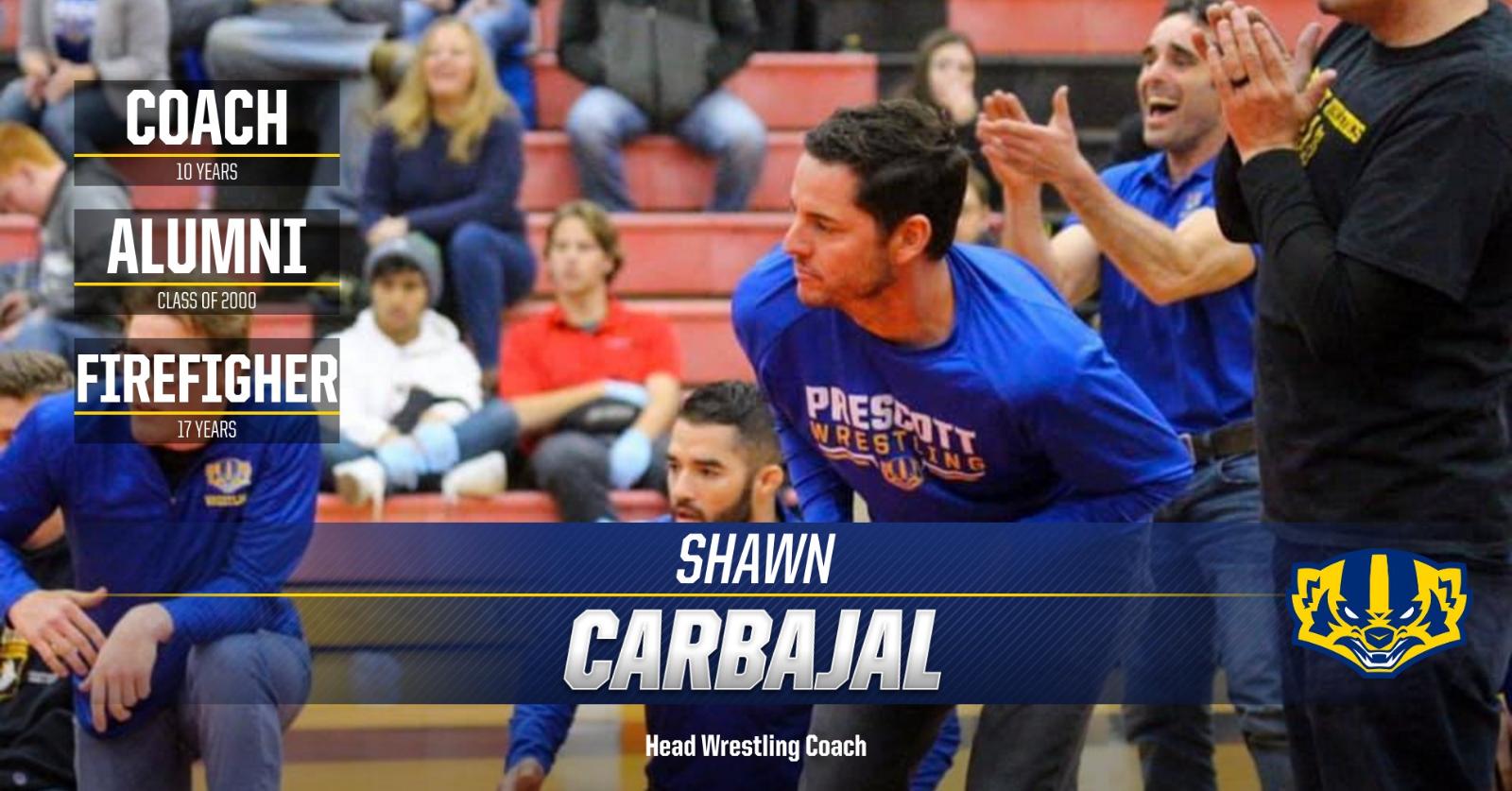 Athletics Staff Up Close-Head Coach Shawn Carbajal (Wrestling)