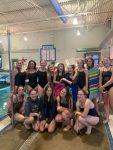 PHS Girl's Swim Team goes 2-0 !