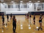 Prescott Varsity Badminton beats Tempe 9 – 0