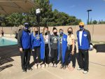 PHS Girls Swim Team had 11 Personal Records at the JR Pooler Invitational State Qualifier