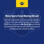 Winter Sports Parent Meeting (Virtual)