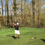 Clackamas High School Boys Varsity Golf finishes 1st place