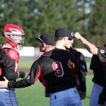 Clackamas High School Varsity Baseball beat Oregon City High School 10-1